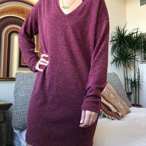 Long sleeve Zara sweater dress